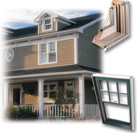 Wooden Hung Windows