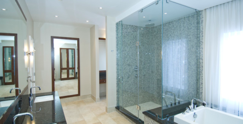 Frameless Glass Showers